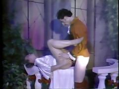 Prince Charming fucks two brides outdoors. tube porn video