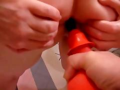 Exam #4 - Enema- Thermometer- Gloves- Suppository tube porn video