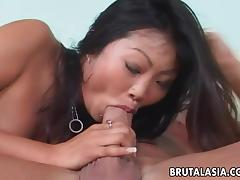 Lucy Lee gets her Asian asshole properly fucked from behind tube porn video