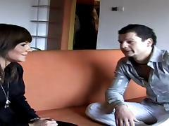 Romanian.Oral la Salon tube porn video