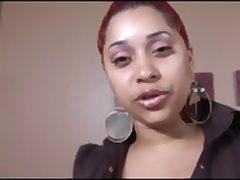 Ebony BBW sucks BBC intensely tube porn video
