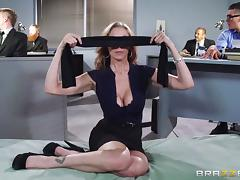 blindfolded and fucked at work tube porn video