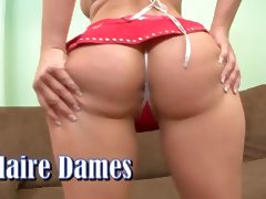 Claire Dames What A Booty tube porn video