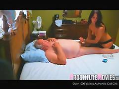 Escort vip massage and blowjob to old man tube porn video