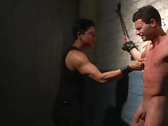 Strong gay BDMS with Micky Mackenzie tube porn video