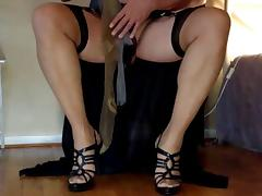 A clip of Michelle in Stockings for Madam and me. Part 01 tube porn video