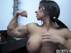 Angela Salvagno 05 - Female Bodybuilder tube porn video