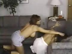 Retro Busty Catfight tube porn video