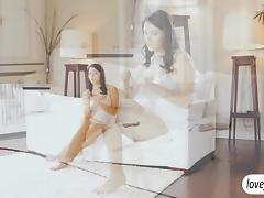 Italian sex goddess Valentina Nappi fuck tube porn video