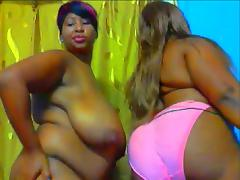 African dancing duo tube porn video