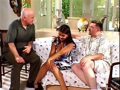 Latina brunette wife Alyiah rides tasty cock in nasty cuckold scene tube porn video