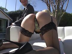 James Deen makes these two hot pornstars in his anal whores tube porn video