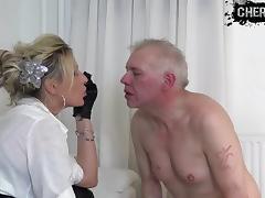 Faceslapping from Femdom CherieNoir tube porn video