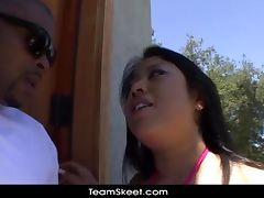 TeamSkeet Chubby big tits Asian Kya Tropic interracial sex tube porn video