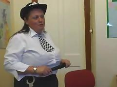 BBW Police. british bbw tube porn video