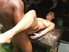 Hot agatha cristine rammed hard by a latino hunk tube porn video