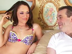 BBC is the key to orgasm for slender pornstar Kristina Rose tube porn video