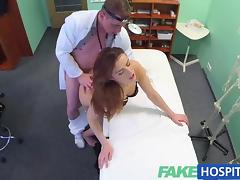 FakeHospital Beautiful brunettes wet pussy tube porn video