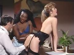 Alicia Monet, Angel Kelly, Barbara Dare in vintage xxx site tube porn video
