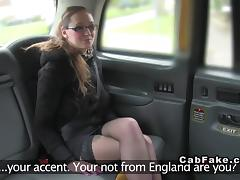 Tattooed busty amateur bangs in taxi euro voyeur tube porn video
