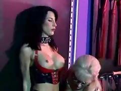Latex Lesbian Dominatrix and Submissive tube porn video