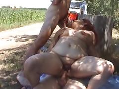 Fattie group sex tube porn video