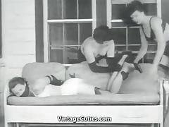 Girl and Her Perverted lover (1950s Vintage) tube porn video
