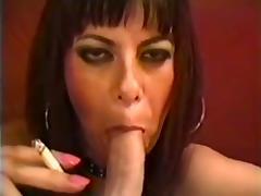 Verbal smoking blow job tube porn video