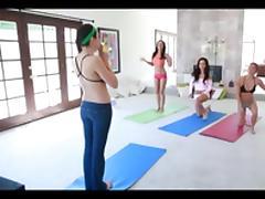 Yoga Class tube porn video