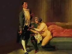 Madame handjob and sucks! Animation! tube porn video