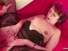 German Mother Fuck 18yr old Step-Son tube porn video