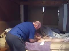 Naughty Girl Gets Strap And Enema tube porn video
