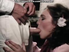 Juliet Anderson, Lisa De Leeuw, Little Oral Annie in classic tube porn video