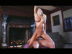 Krystal Steal - incredible body fucked by the fireplace tube porn video