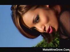 Hot Brunette Jasmine Spread Her Ass tube porn video