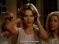 Cute Lesbian Makes Beautiful Video (1970s Vintage) tube porn video