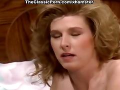 Nicole London, Randy West in sizzling hot fucking of classic tube porn video
