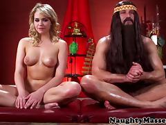 Flexible yoga student facizlized by her guru tube porn video