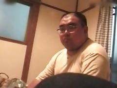 Vintage busty Japanese girl fucks otaku tube porn video