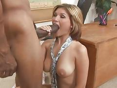Sexy Leigh Livingston office fuck tube porn video