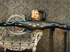 latex flexible slut tube porn video