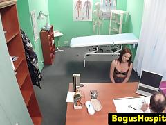 Hospital spycam fucking with young eurobabe tube porn video