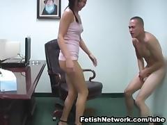 The Ball Busting Schoolgirl tube porn video
