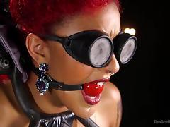 tattooed redheaded slut gets tortured tube porn video