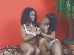 Black on Black  ( lollipop lesbians ) tube porn video