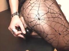 Pervert crossdressers doggy style twosome tube porn video