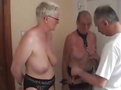 Fun with my mature Dutch slaves tube porn video