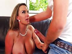 big tits at work - holly halston tube porn video