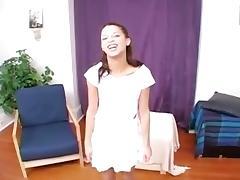 Petite Latina girl Fucked & Facialed tube porn video