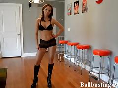 Your ballbusting humiliation starts now tube porn video